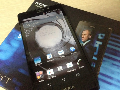 Xpreia t lt30p the bond phone eyecatch