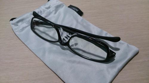 Jins pc clear lens black 4