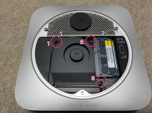 Mac mini 2011 mid ssd expansion 07