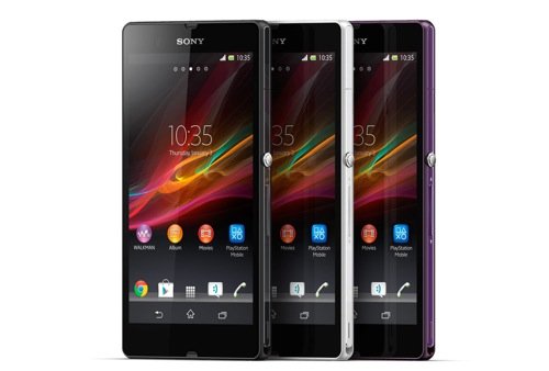 Xperia z and zl in ces 2013 1