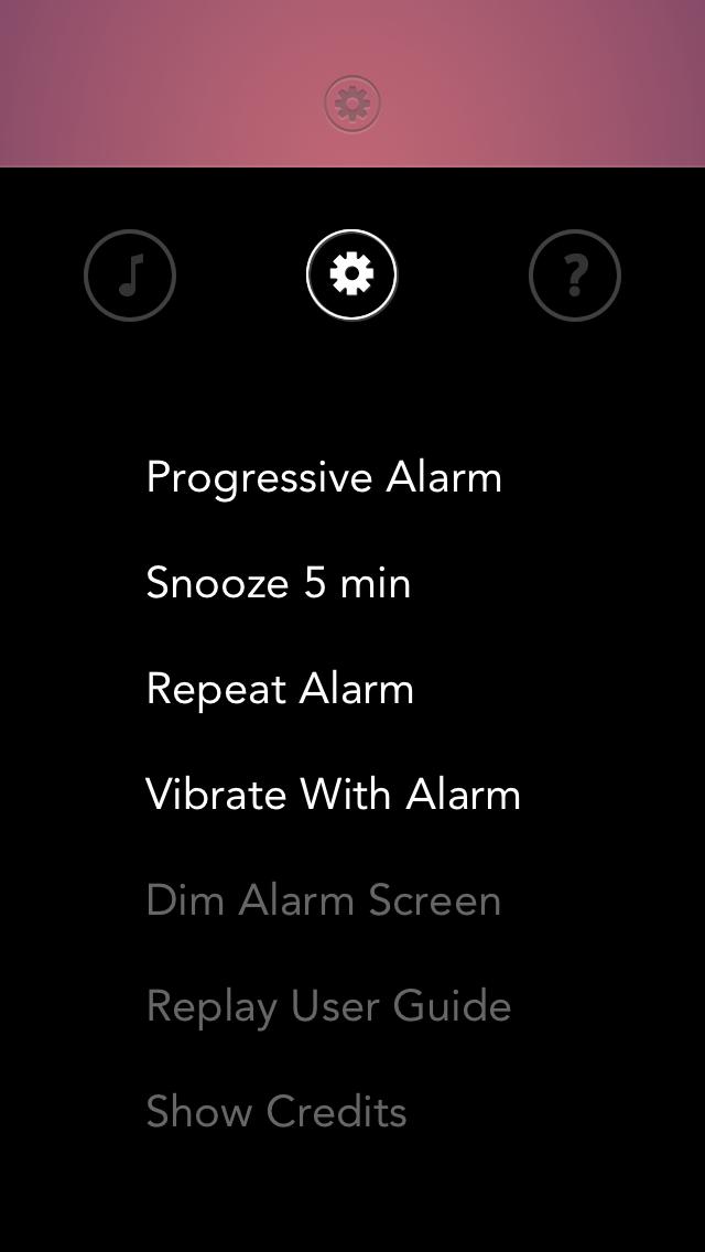 Rise alarm clock beautiful ui 2