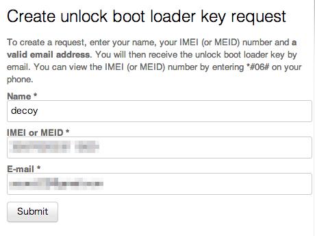 Xperia z bootloader unlock 5