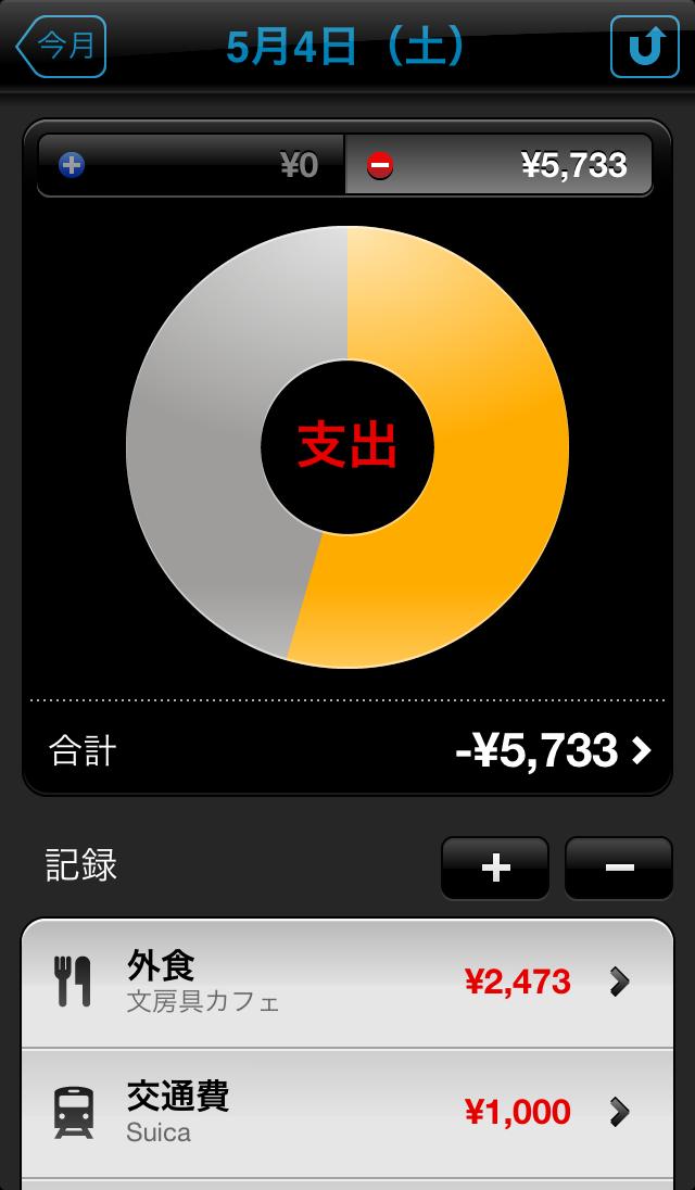 Moneytron expenses app 6
