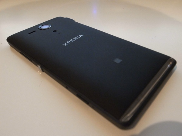 Xperia sp appearance review