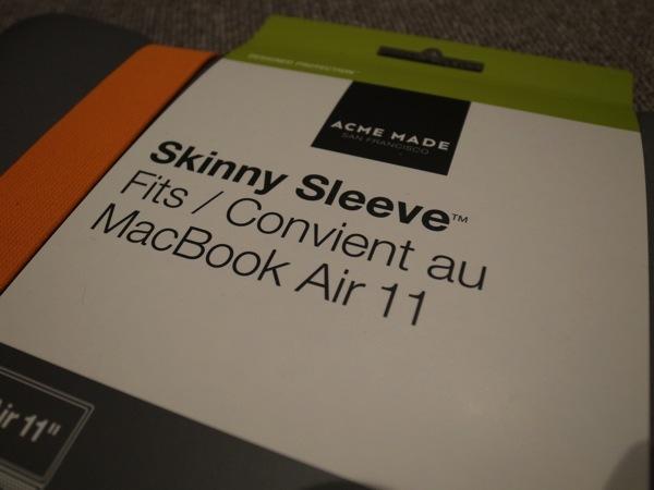 Acme made 11 inch skinny sleeve