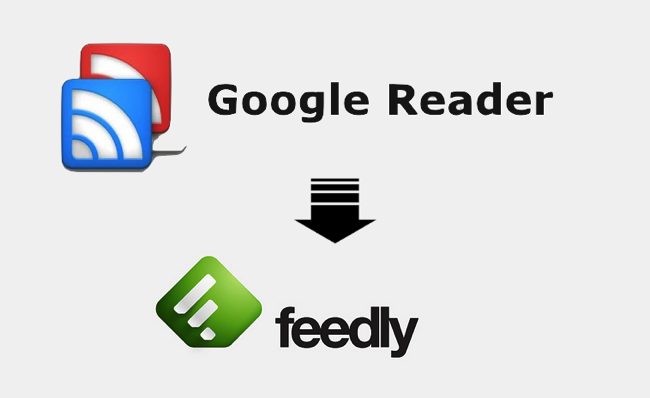 To google reader from feedly