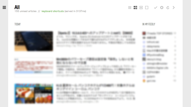 To google reader from feedly 3