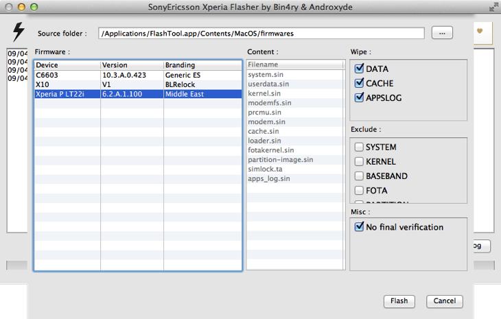 Xperia p 100 updata thp jb kernel v12 1