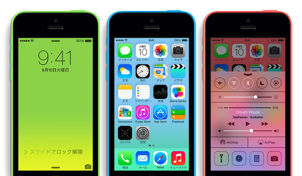 Apple iphone 5c 3