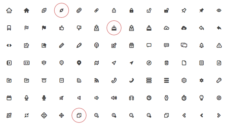 Iconfonts