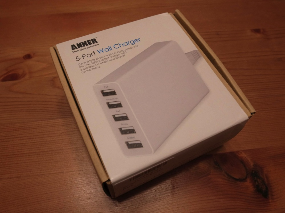 Anker 25w 5port usb charger 01