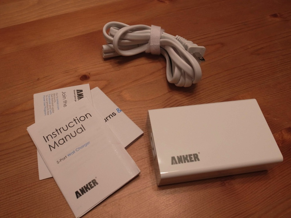 Anker 25w 5port usb charger 04