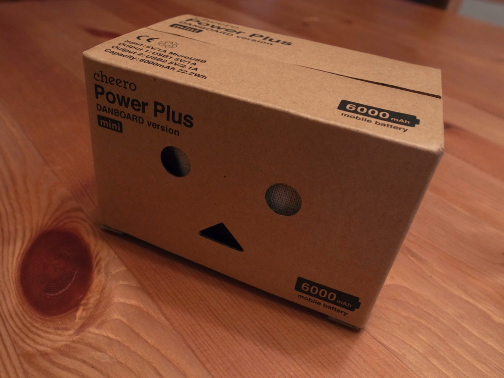 Cheero power plus danboard version mini 01