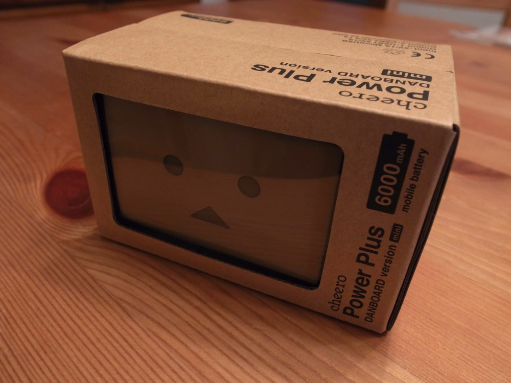 Cheero power plus danboard version mini 02