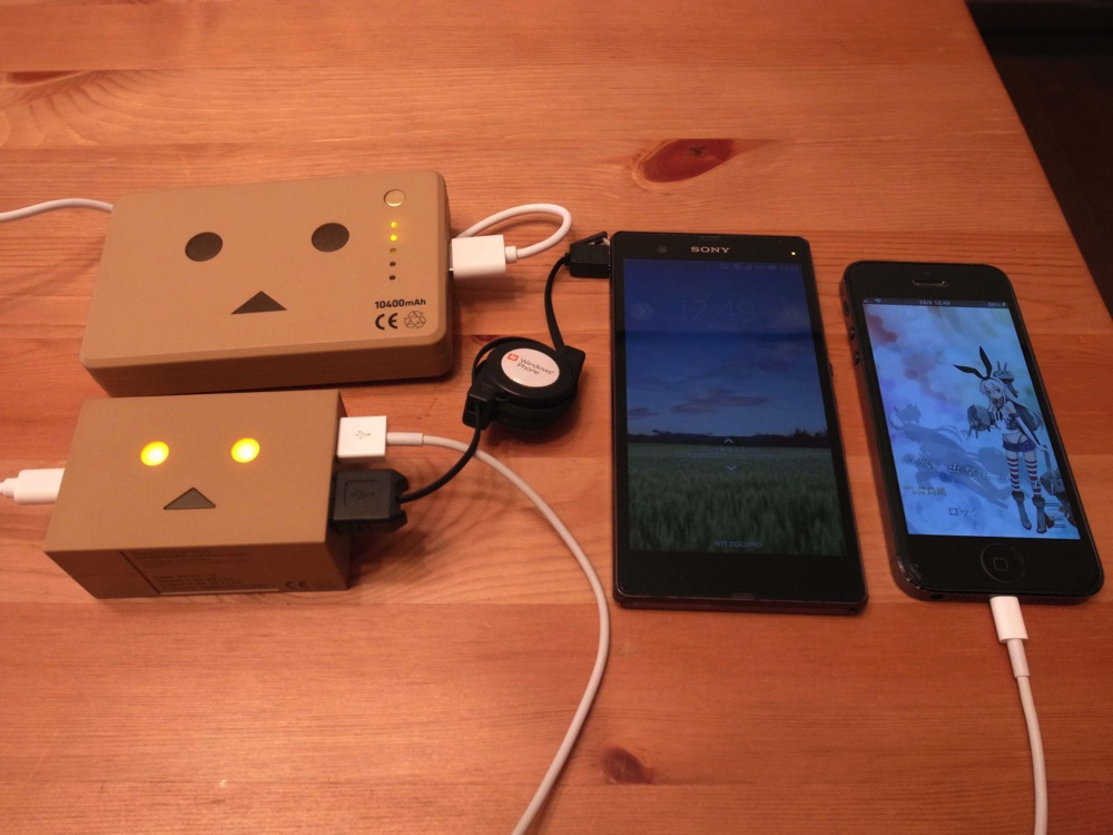Cheero power plus danboard version mini 21