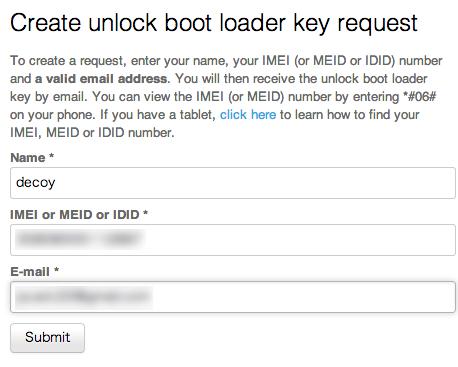 Xperia z ultra bootloader unlock 09