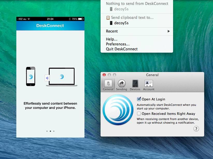 Deskconnect mac iphone file translate