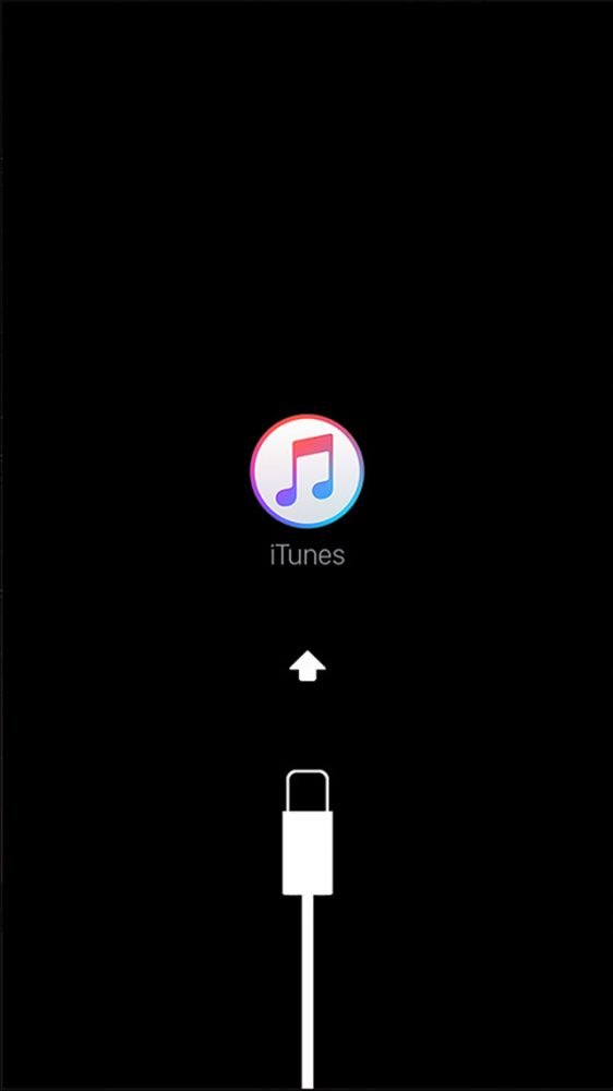 iPhone リカバリーモード 画面