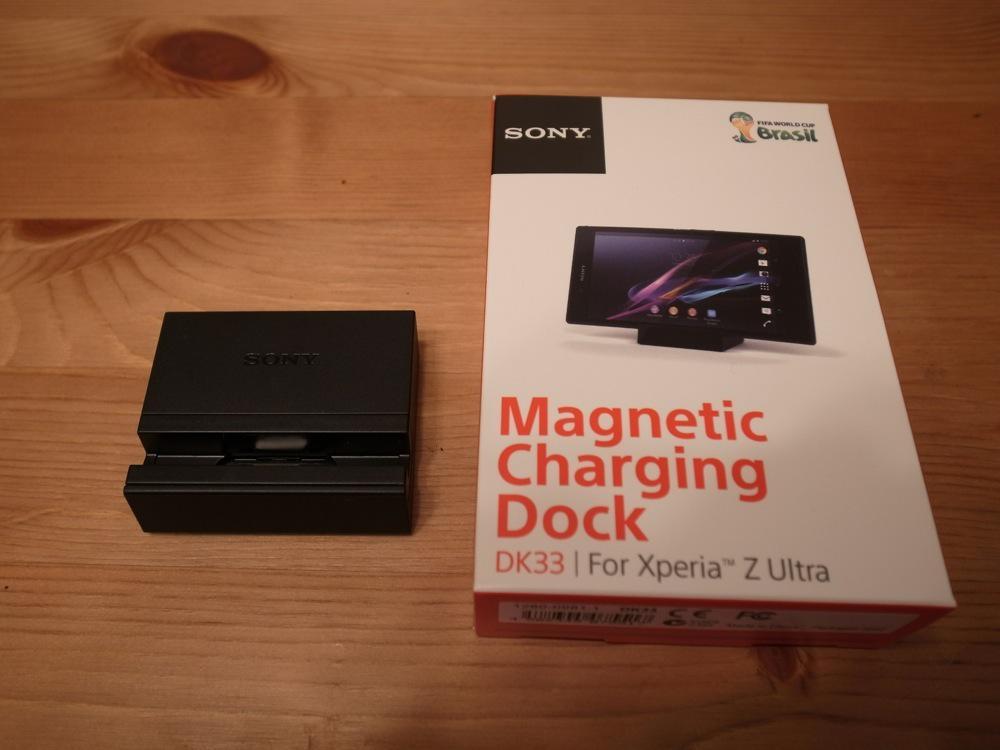 Xperia z ultra magnet charging dock dk33 06