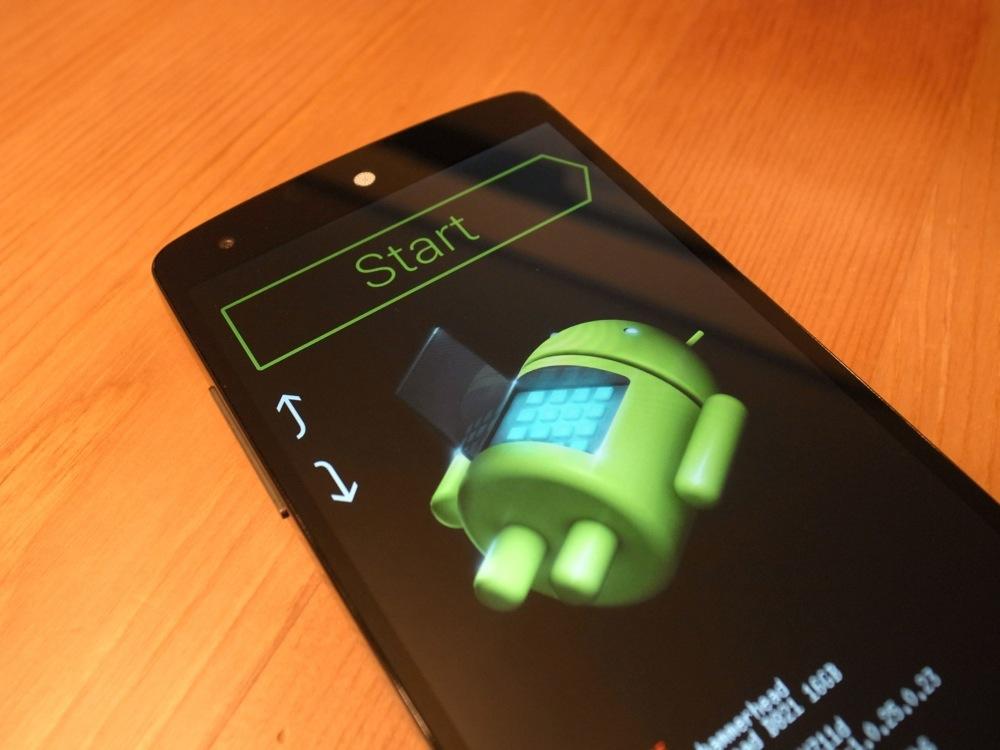 Nexus 5 Bootloader unlock root 1