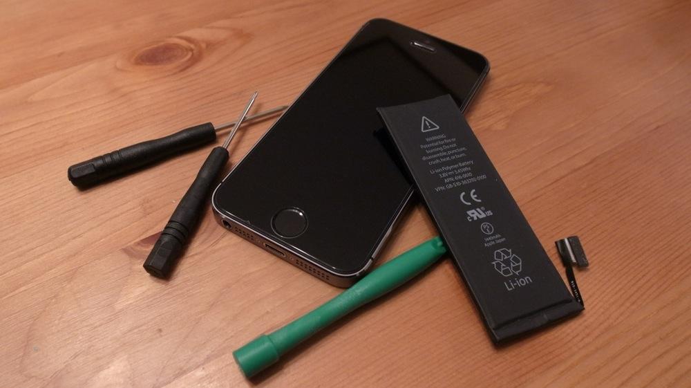 iPhone 5 5s 分解 バッテリー交換 自力 手順