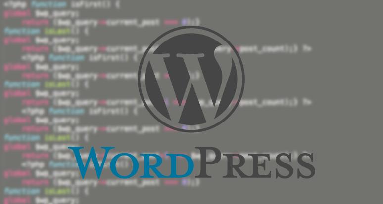 Wordpress loop first last