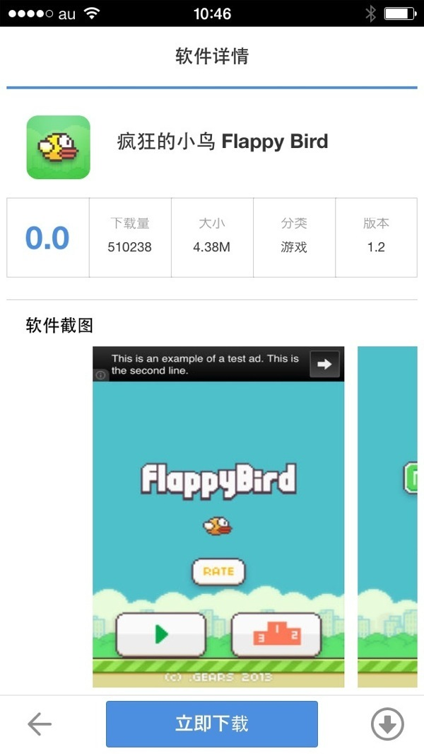 Flappy bird install 06
