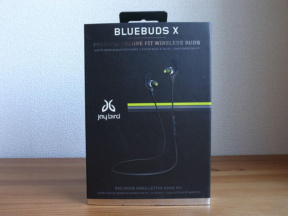 JayBird BlueBuds X ワイヤレス Bluetooth イヤホン box