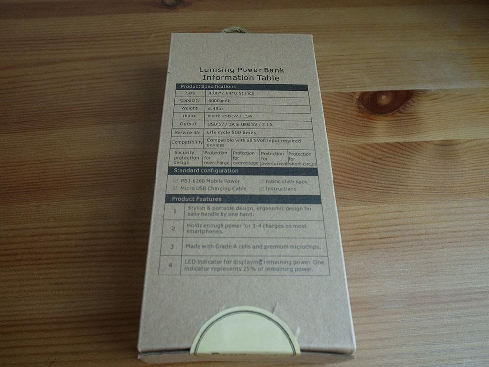 Lumsing mobile battery 02