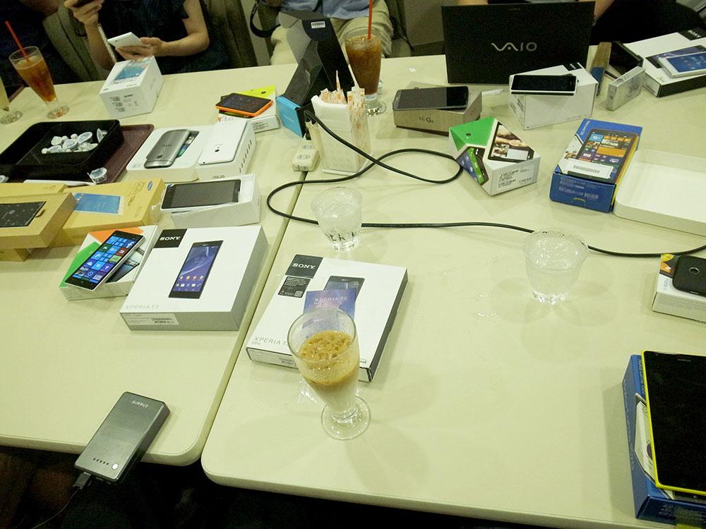 Expansys japan sim free sp blogger meeting2