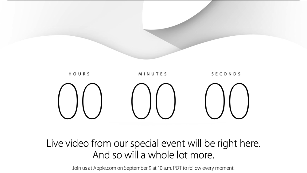 Apple Special event tweet