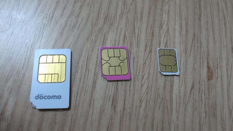 SIM card size
