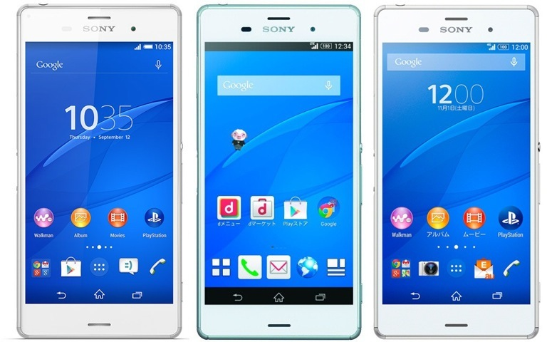 Xperia Z3 front