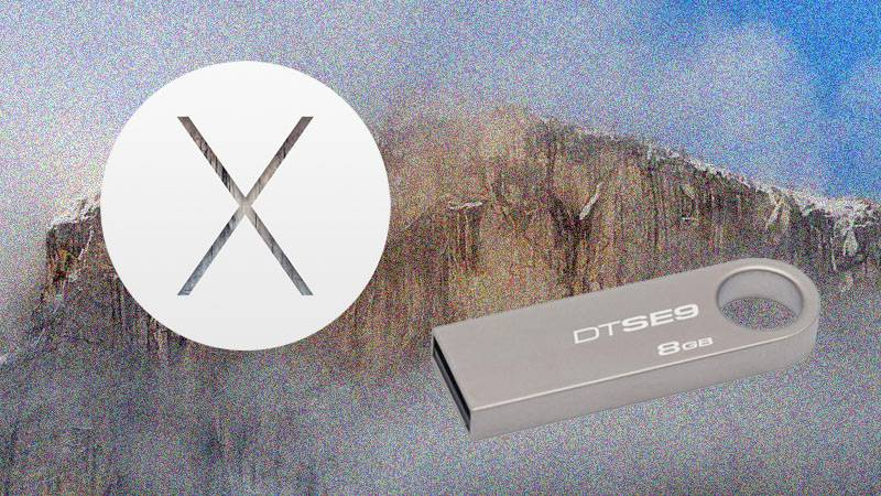 OS X Yosemite インストールディスク
