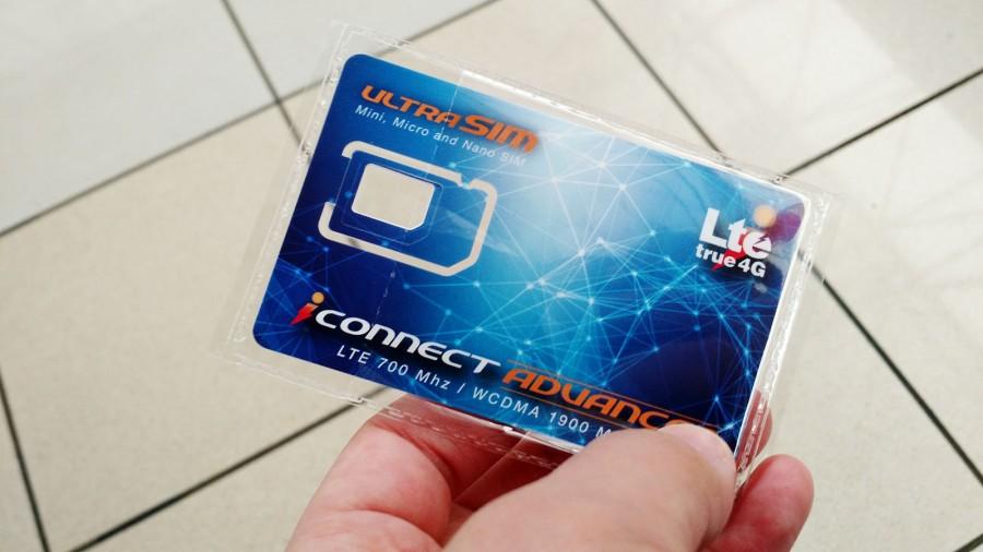 iconnect プリペイドSIMカード