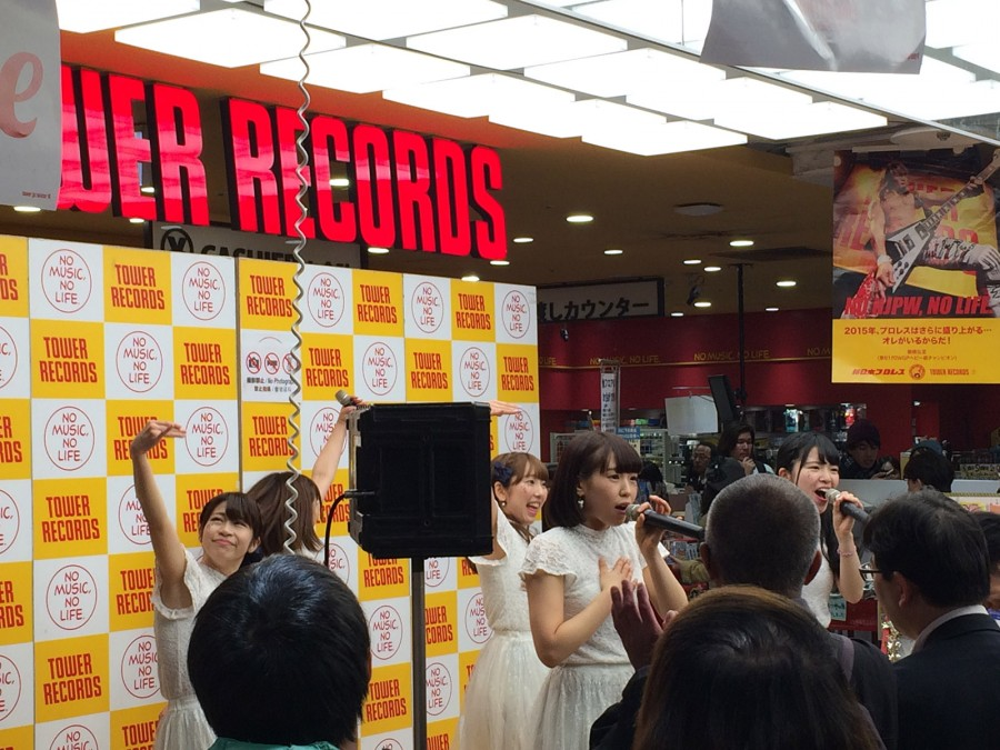 starmarie tower records shibuya instore event_07