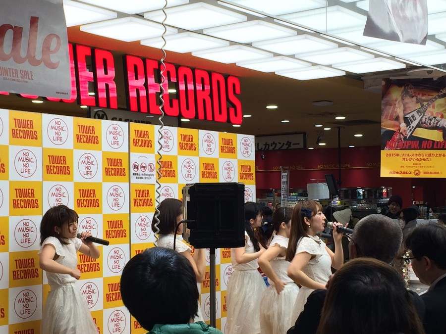 starmarie tower records shibuya instore event_08