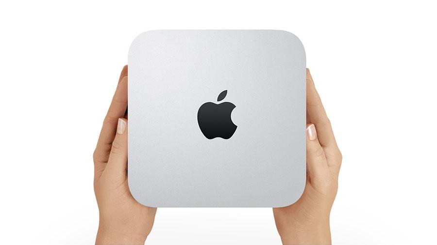 Mac mini power up