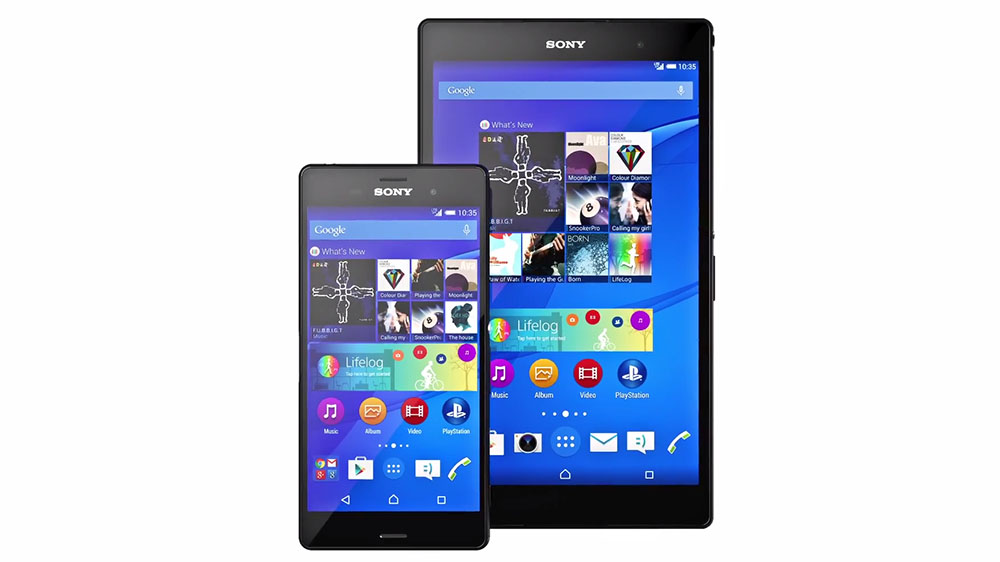 Xperia Z3 Z3 Compact Android 5.0.2 Lollipop