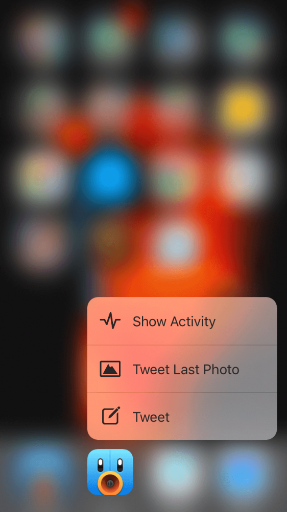 tweetbot 4 enable 3D touch 1
