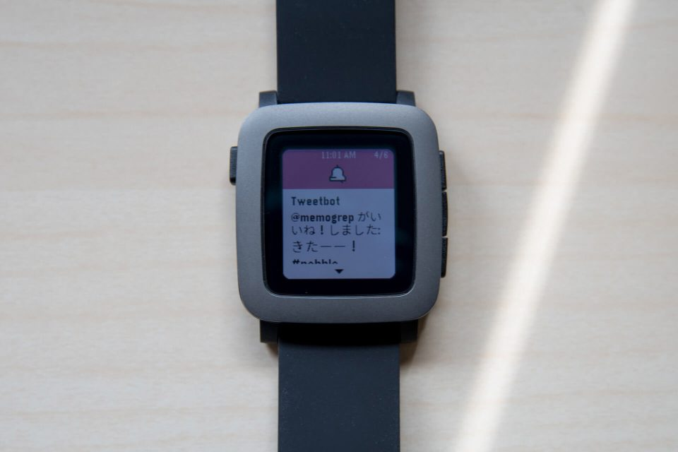 Pebble Time 日本語化 方法 Android iOS