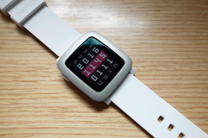 Pebble Time enigma