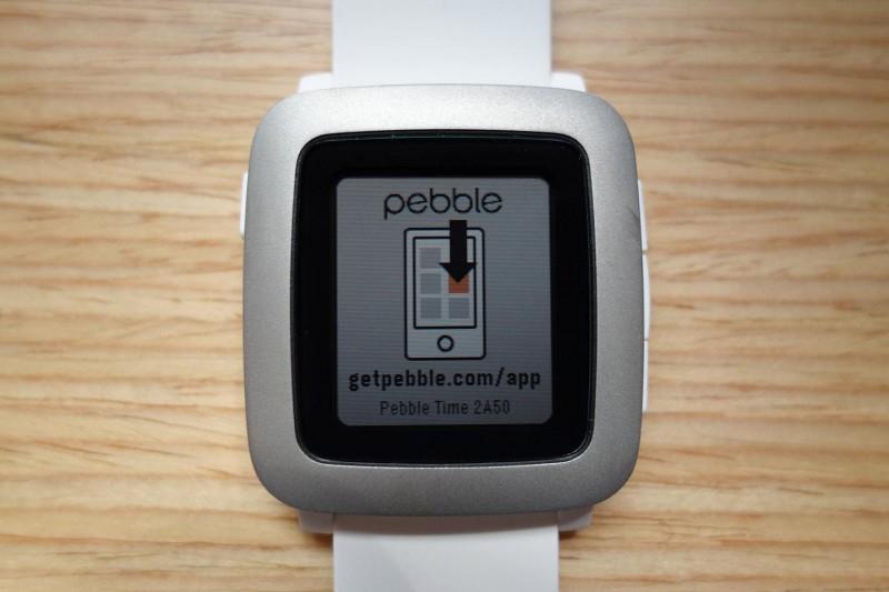 Pebble Time setup_01