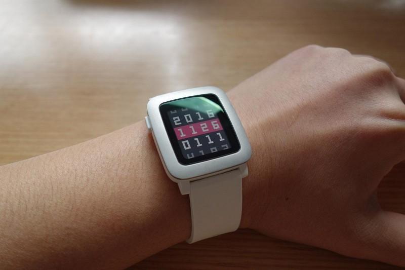Pebble Time wear