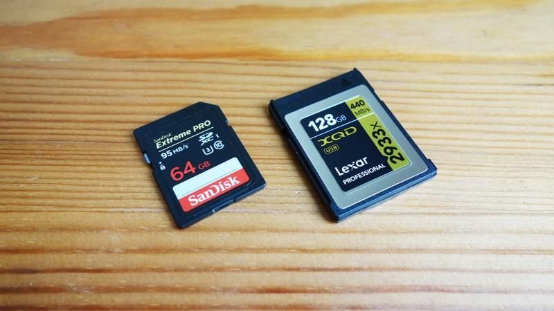 XQDカードの転送速度をSDカードと比較したらマジで爆速だった