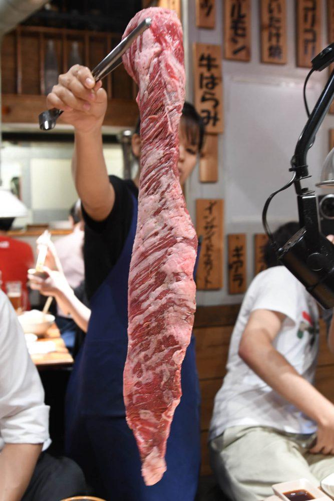 でこ肉会 錦糸町 とんつう スカイツリーハラミ_5