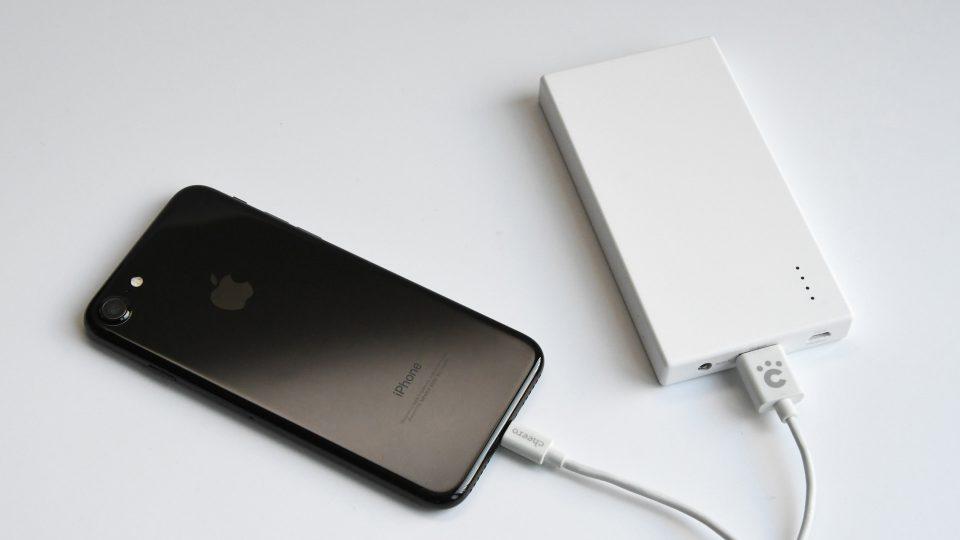 cheeroのモバイルバッテリー「Energy Plus 5000」レビュー。シンプルでステッカー貼るのにめっちゃよい