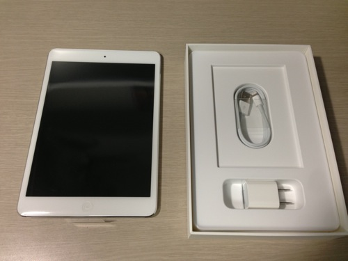 Ipad mini white 32gb 4