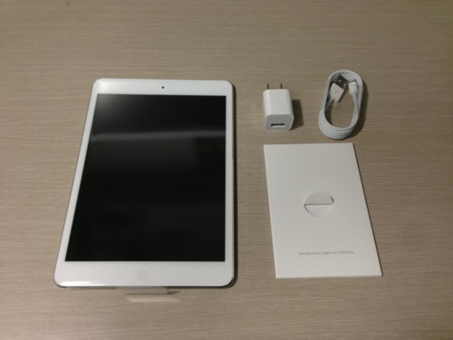 Ipad mini white 32gb 5
