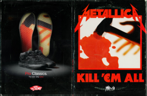 Metallica × VANS の「Kill 'Em All」スニーカーをゲットした!